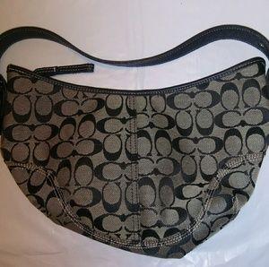 Coach Signature Shoulder Bag, One Strap